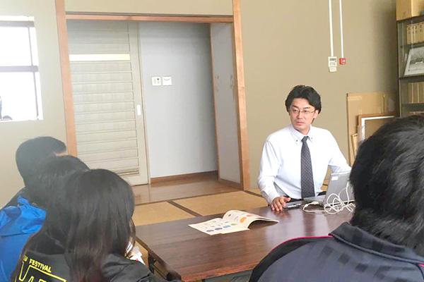 剣道部四年生対象の就職セミナー