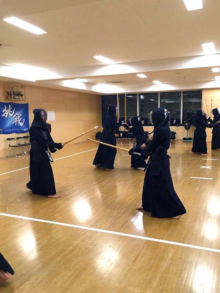 剣道部広尾学園