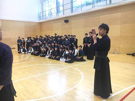 交剣知愛 広尾学園 剣道教室 錬成会