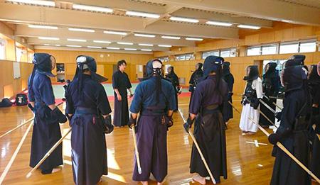 愛媛大学剣道部研修